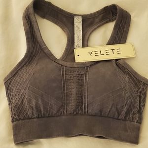 Size S Yelete molded cup sports bra NWT